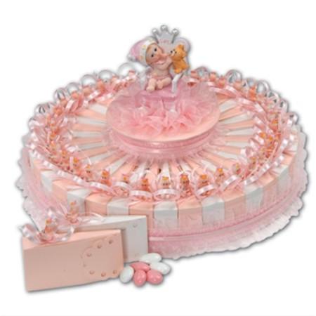 djecja torta roza